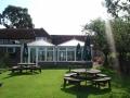 Rear Garden & Conservatory Restaurant