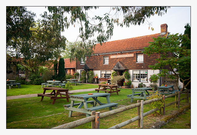 Welcome to the Greyhound Pub, Midhurst, West Sussex