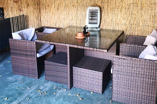 Heated Garden Space - The Greyhound Pub & Restaurant, Midhurst, West Sussex