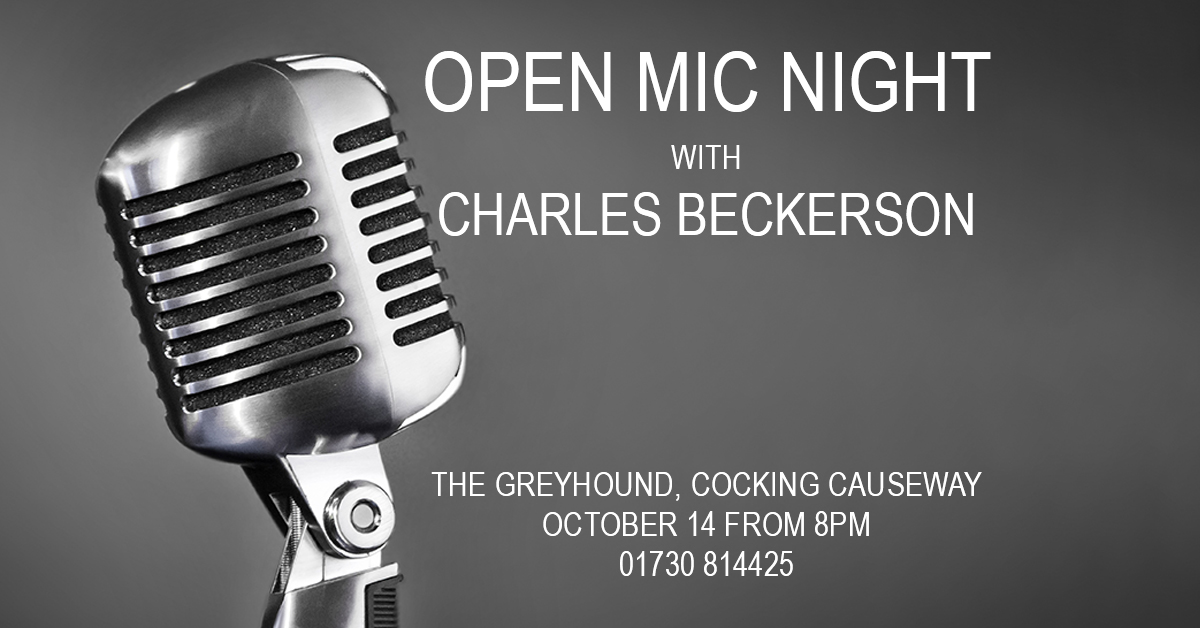 Open Mic Night with Charles Beckerson - The Greyhound, Midhurst